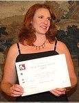 Amy w certificate.jpg